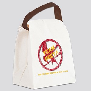 Team Peeta Forever2 Canvas Lunch Bag