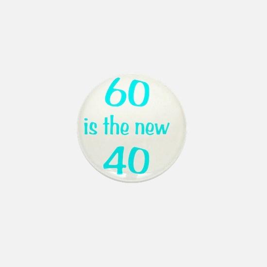 60New40wht Mini Button