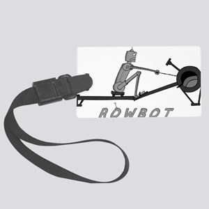rowbot colored t Large Luggage Tag