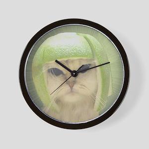 melonheadcat7100 Wall Clock