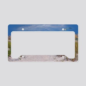 Carefree Beach Days License Plate Holder