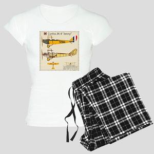 JennyArmyNoPilotBack Women's Light Pajamas