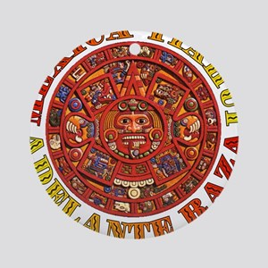 Mexica Tiahui Ornament (Round)