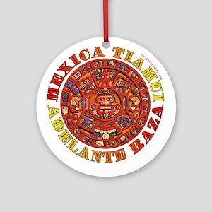 Mexica Tiahui Ornament (Round)
