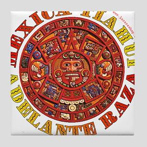 Mexica Tiahui Tile Coaster