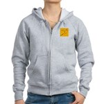 Unsigned Records Logo Zip Hoodie