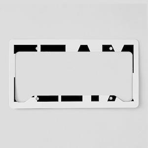 TEAMPEETA License Plate Holder