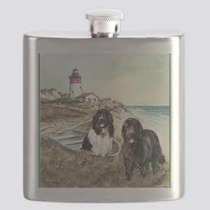 2 newfs and boat  Flask