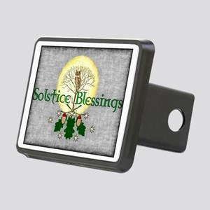 Solstice Blessings Rectangular Hitch Cover