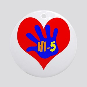 HI-5 Ornament (Round)