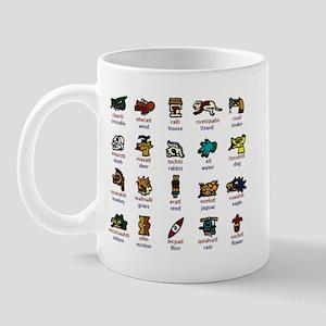 Aztec Calendar Days Mug