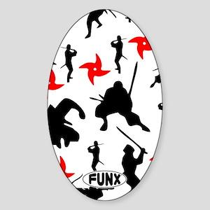 NinjasKINDLE Sticker (Oval)