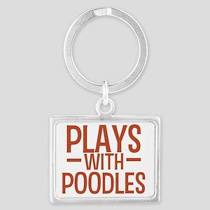 playspoodles Landscape Keychain