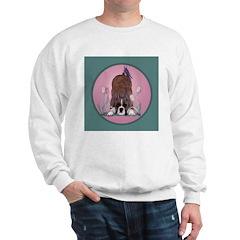 Boxer Playing Sweatshirt