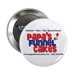 """Papa's Funnel Cakes 2.25"""" Button (10 pack)"""