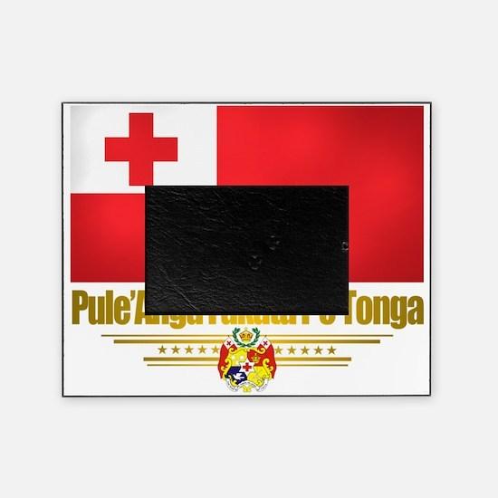 Tonga (Flag 10)2 Picture Frame