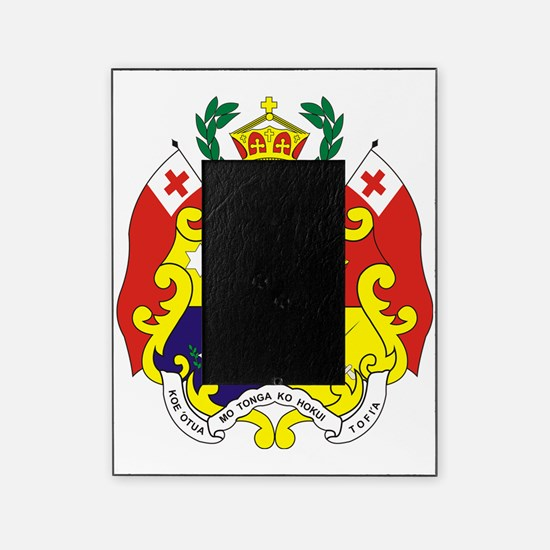 Tonga COA Picture Frame