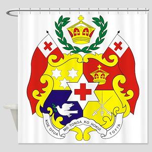 Tonga COA Shower Curtain