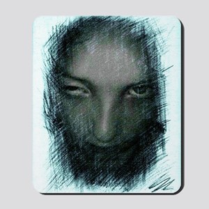 A freaky Zombie kid sketch combining a p Mousepad
