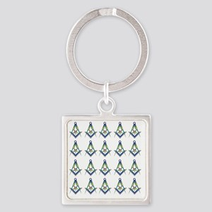 OES SC Shower copy Square Keychain