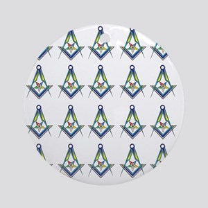 OES SC Shower copy Round Ornament