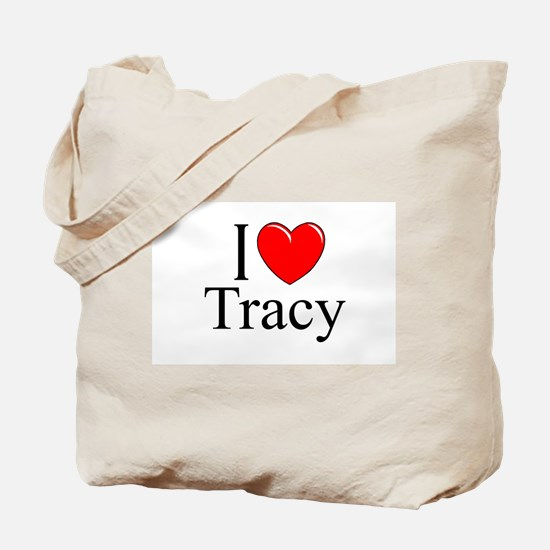 """I Love Tracy"" Tote Bag"