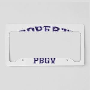 pbgvproperty License Plate Holder