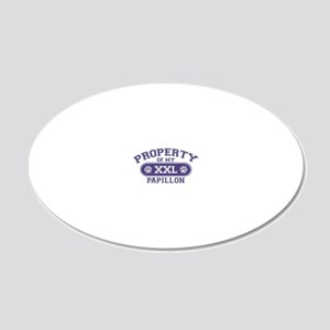 papillonproperty 20x12 Oval Wall Decal