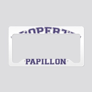 papillonproperty License Plate Holder