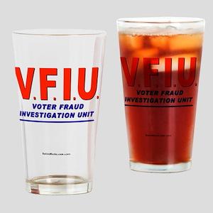 VFIUredLetters Drinking Glass