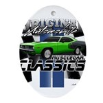 Classic Musclecar Ornament (Oval)