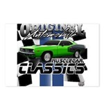 Classic Musclecar Postcards (Package of 8)