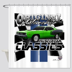 Classic Musclecar Shower Curtain