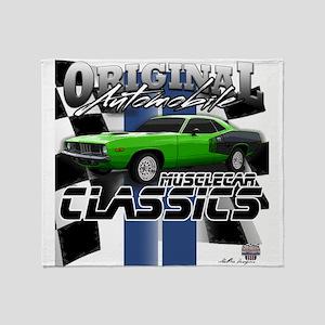 Classic Musclecar Throw Blanket