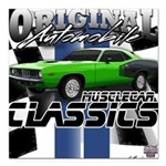 Classic Musclecar Square Car Magnet 3