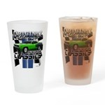 Classic Musclecar Drinking Glass