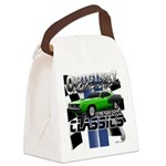 Classic Musclecar Canvas Lunch Bag