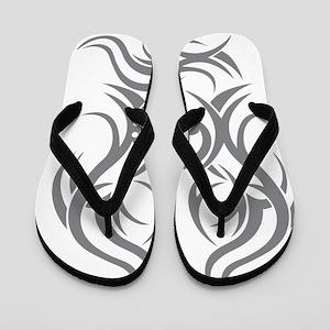 basscleftribal copy Flip Flops