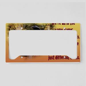 11x17_TheGame License Plate Holder