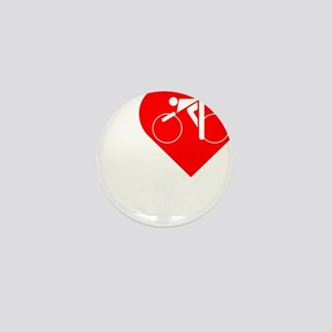 I-Heart-Cycling-darks Mini Button