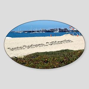 Lifeguard Tower Sticker (Oval)