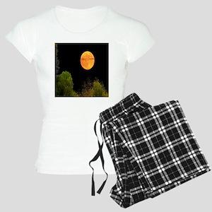 moon shower curtain Women's Light Pajamas