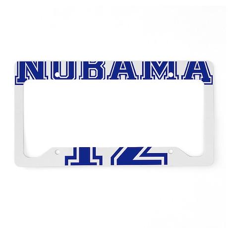 nobama_12 License Plate Holder