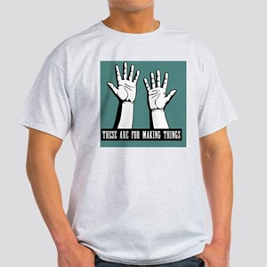 hands-work-TIL Light T-Shirt