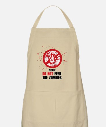 do not feed Apron