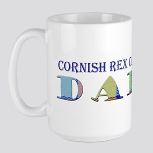 Cornish Rex Large Mug