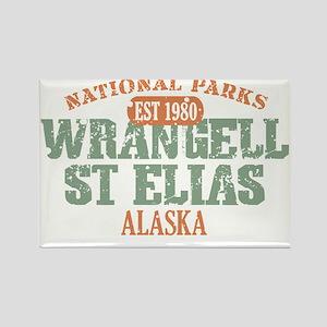 Wrangell St Elias 3 Rectangle Magnet