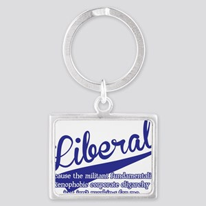 liberal Landscape Keychain
