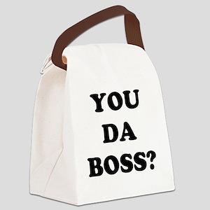 YOU DA BOSS Canvas Lunch Bag