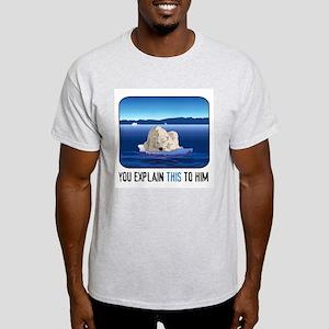 Arctic Polar Bear Light T-Shirt